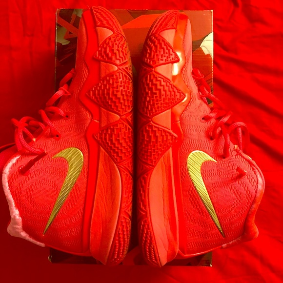 "low priced 23ee2 e1bca Nike Kyrie 4 ""Red Carpet"""